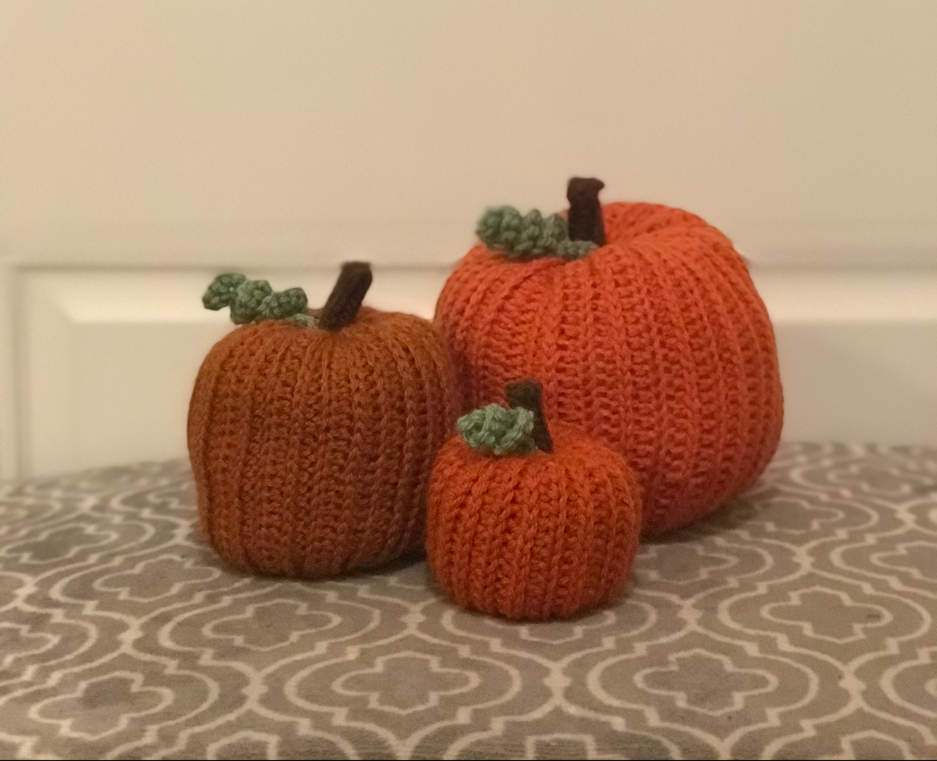 Sweater Pumpkin Patter